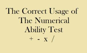 Numerical Ability Test