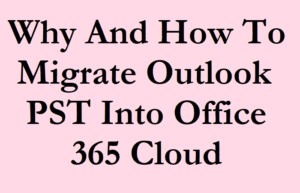 Outlook PST