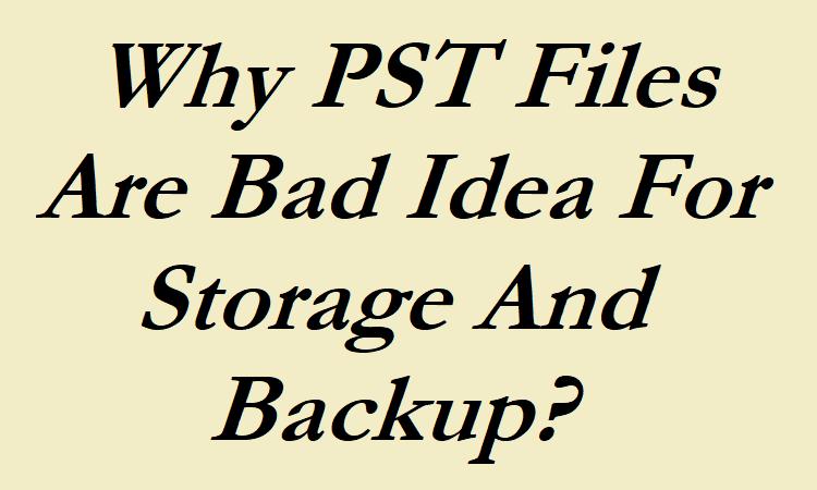 PST Files