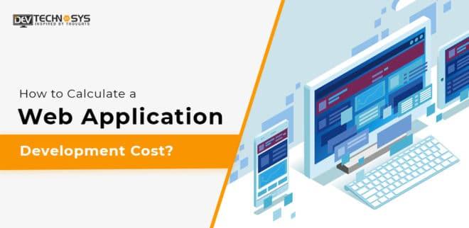 Web Application Development Cost
