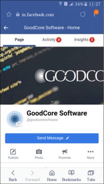 Goodcore Mobile Facebook Screen Size