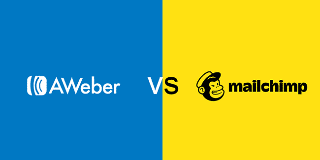 AWeber And Mailchimp