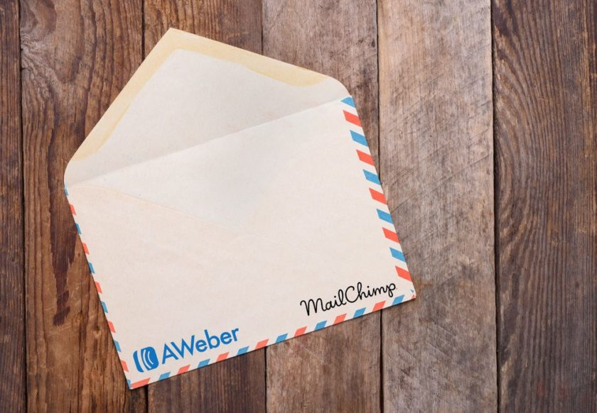 Mailchimp and AWeber