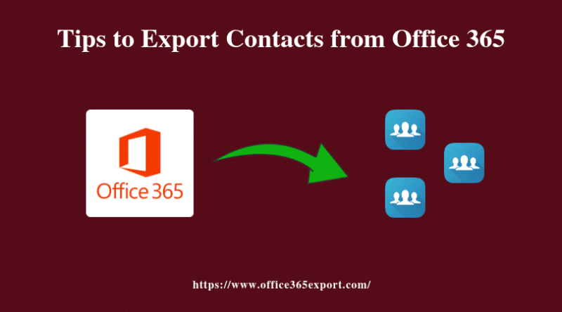 office 365 contacts to pst