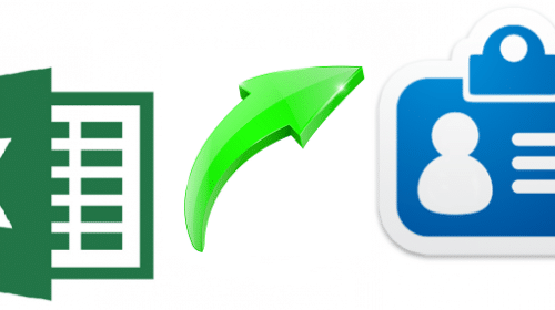 Searching How to Convert Excel to VCF Mac? End Search Here