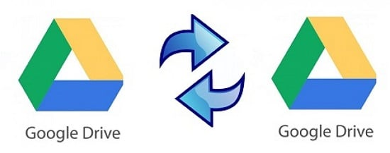 Migrate Files from one Google Drive