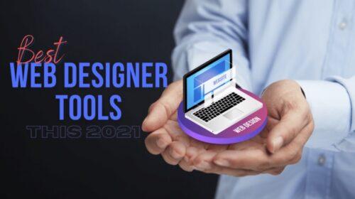 Best Web Designer Tools this 2021