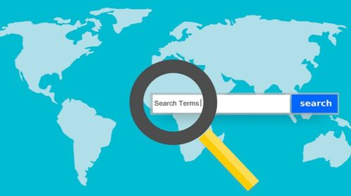 What Feature is Required to Track Customer Search Terms on a Website?